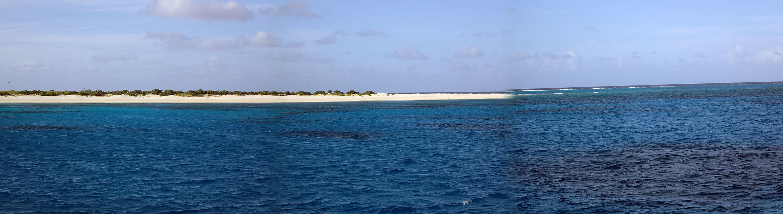 East Diamond Islet panorama