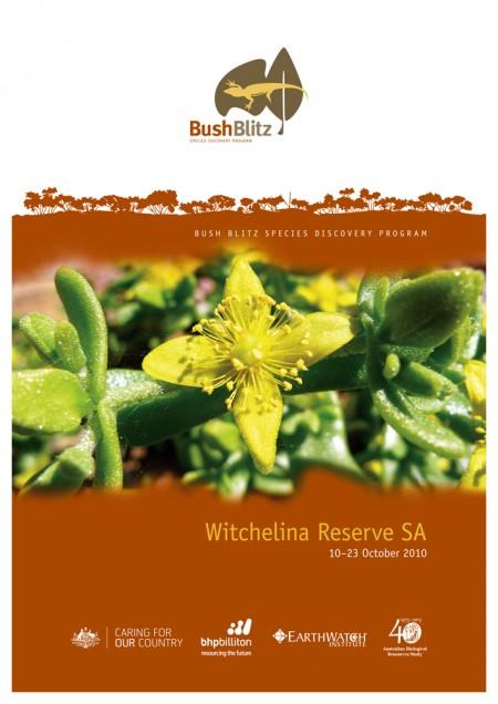 Witchelina Reserve SA 2010