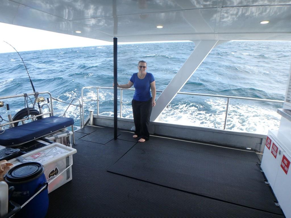 A rough voyage to the Diamond Islets - teacher Shellie Cashmore
