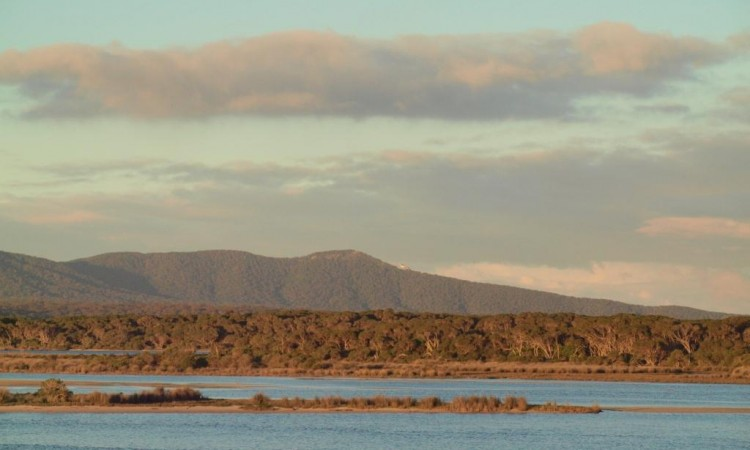 Howe Range from Mallacoota Inlet © B. Paton