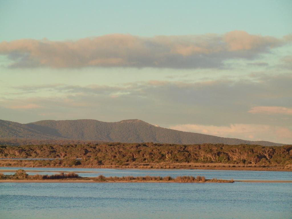 Howe Range from Mallacoota Inlet © B. Paton