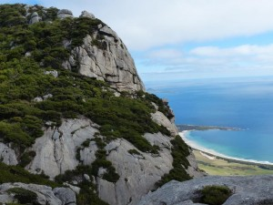 View from Mt Strzelecki, Flinders Island